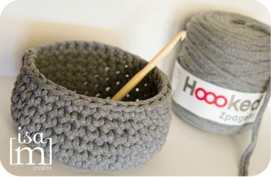 corbeille crochet tricot couture crochet pinterest corbeille crochet et tricot. Black Bedroom Furniture Sets. Home Design Ideas