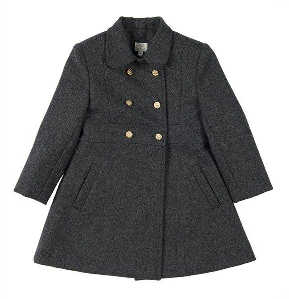 livly charcoal grey coat