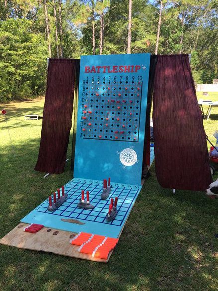Superbe You Sunk My Battleship!! Backyard GamesBig ...