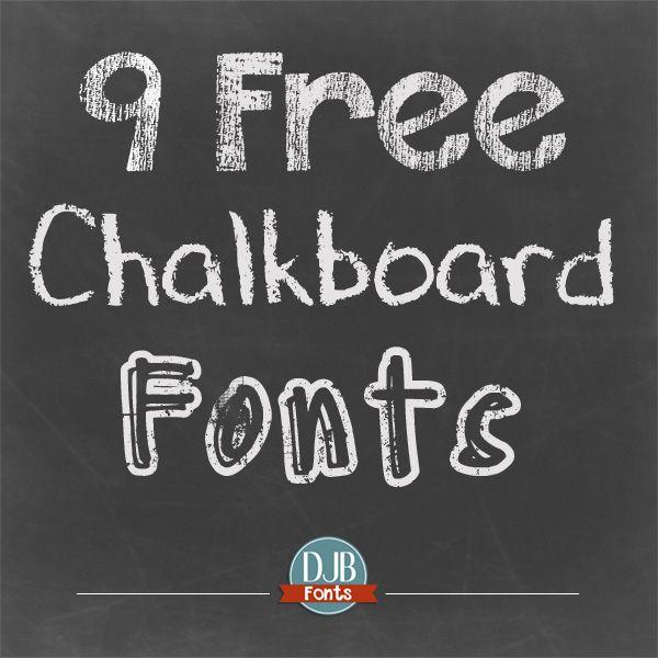 Get Some Free Chalkboard Fonts Chalkboard Fonts Free Chalkboard Fonts Vintage Fonts Free