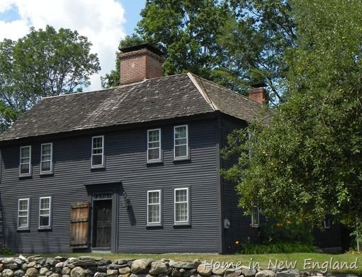 Image Result For Black Painted Houses Colonial House