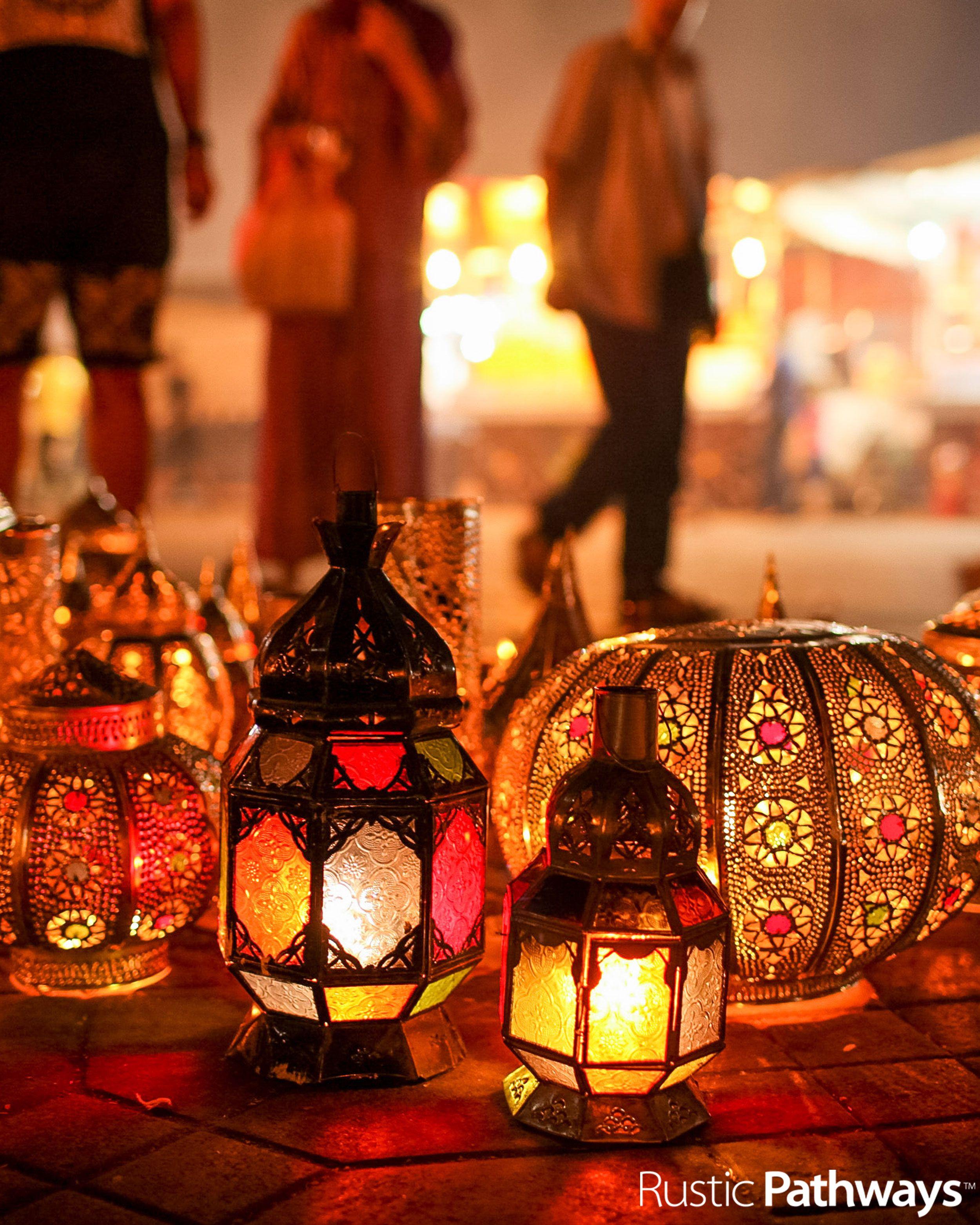 Glass lanterns l MOROCCO l Jill Richards