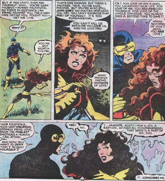 Uncanny X Men 136 137 Supermegamonkey Chronocomic X Men Dark Phoenix Comic Book Pages