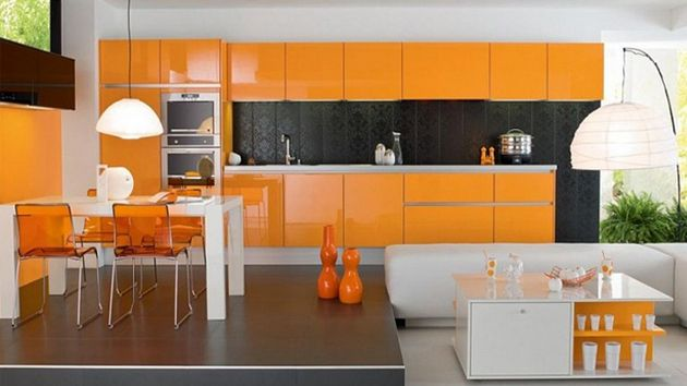 A Collection of 15 Kitchen Paint Ideas We always wondered how ...