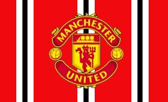 Manchester United Stripe Official Football Club Flag Manchester Manchester United Man United