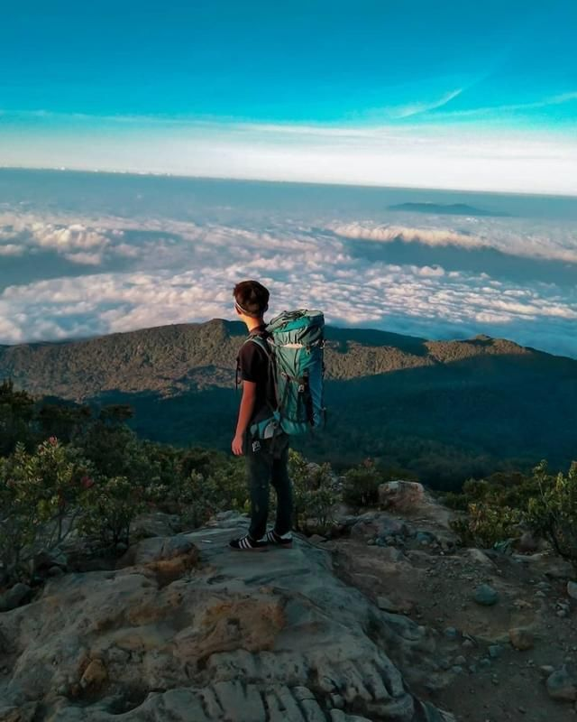 20 Gunung Terindah Di Pulau Jawa Bikin Kamu Ingin Mendakinya Menunggang Kuda Danau Pemandangan