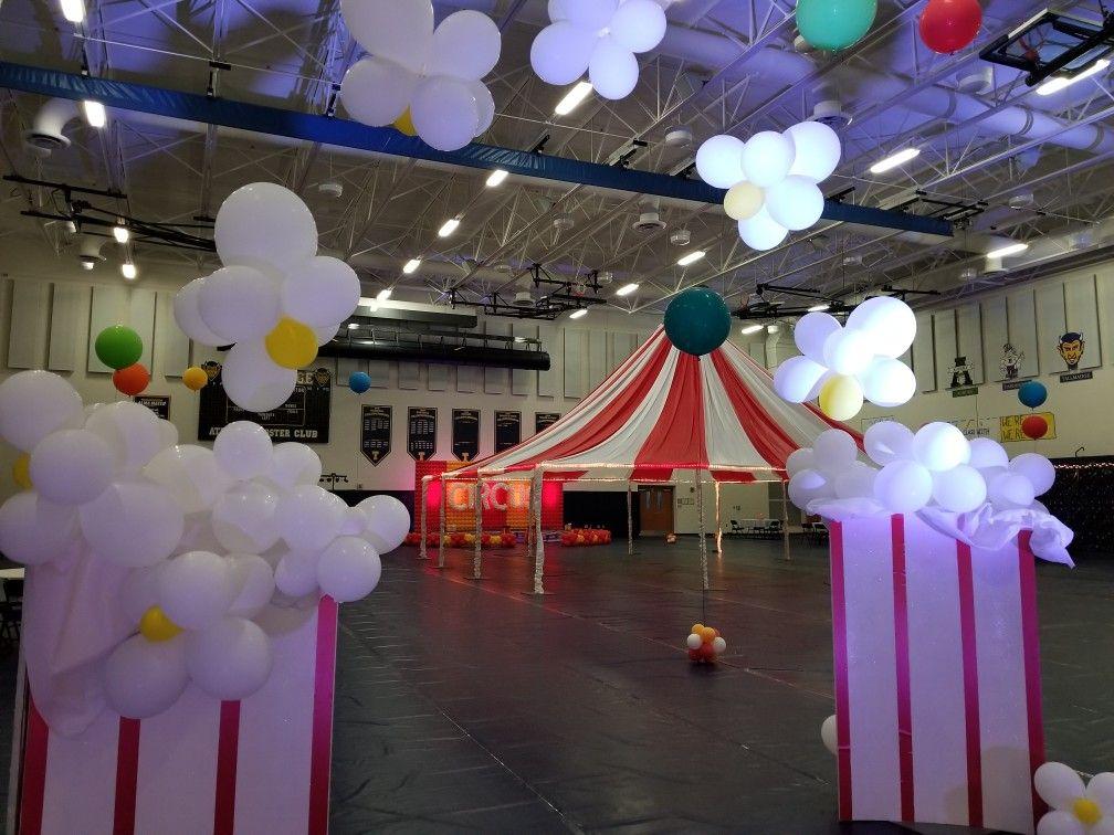 Circus Dancetheme Decoration Pep Rally Themes Rally Idea Pep Rally