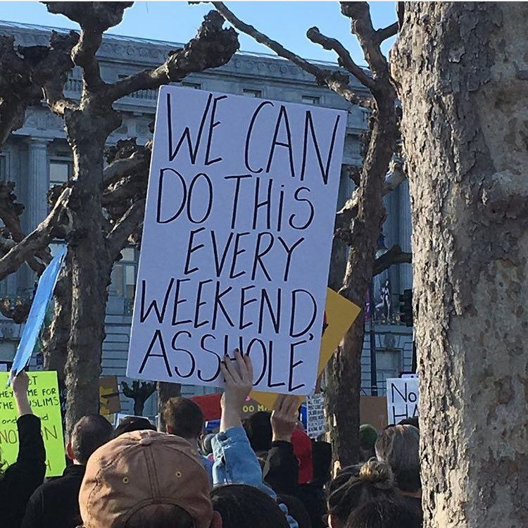 Annieb On Twitter Awesome Shot From Sf Protest Today Cred To Xtinanv Proof Protest Is The New Brunch Cc Podsav Protests Today Natural Landmarks Landmarks