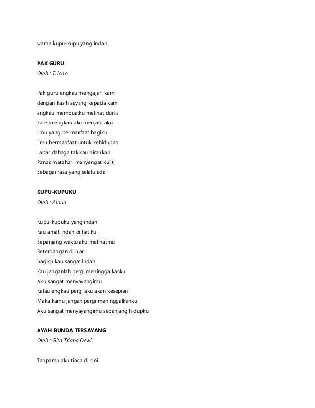 Puisi Untuk Guru Yahoo Image Search Results Puisi