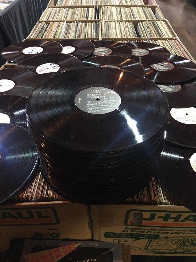 Bulk Lot Of 85 Vinyl 12 Lp Records For Arts Crafts Decoration Best Deal Ebay Vinyl Decor Crafts Album Storage