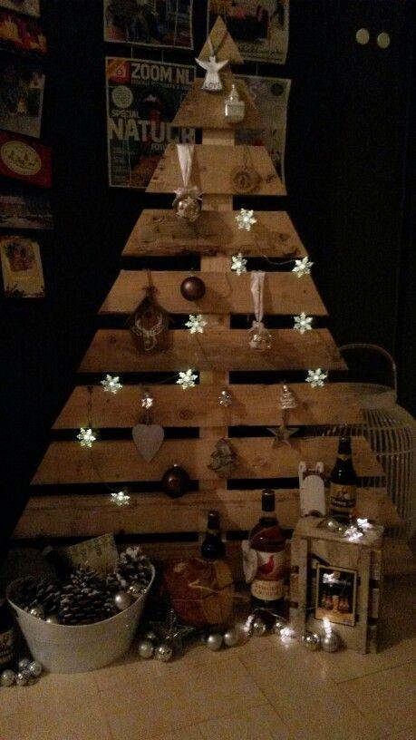 Self made kerstboom!!!