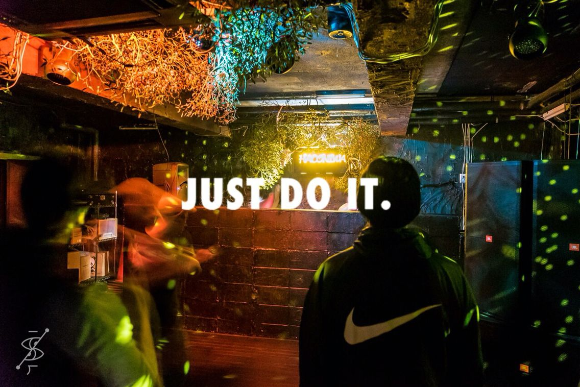 NIKE respect decoration by botanical garden NUE | botanical Lab ...