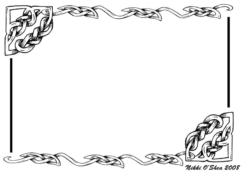 Black and white border designs borders designing art i like black and white border designs borders designing yadclub Images