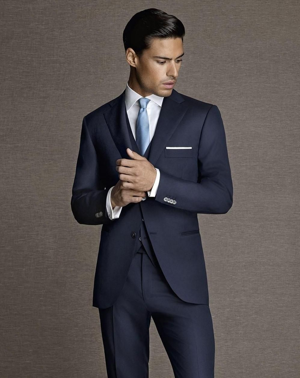 navy blue 3 piece - Google Search | jayds suits | Pinterest | Navy ...
