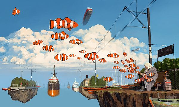 A Separate Reality 10 by Alex Andreyev