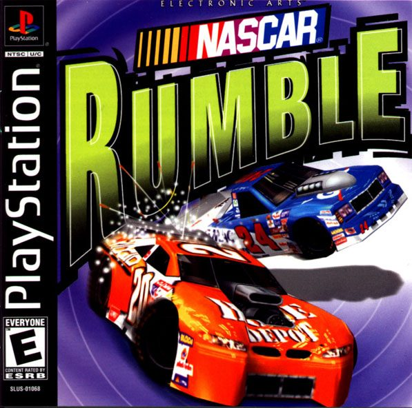 NASCAR Rumble Classic video games, Playstation, Nascar