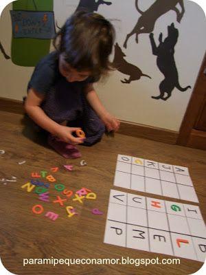 Para Mi Peque Con Amor Actividades 2 3 Anos Montessori Juegos