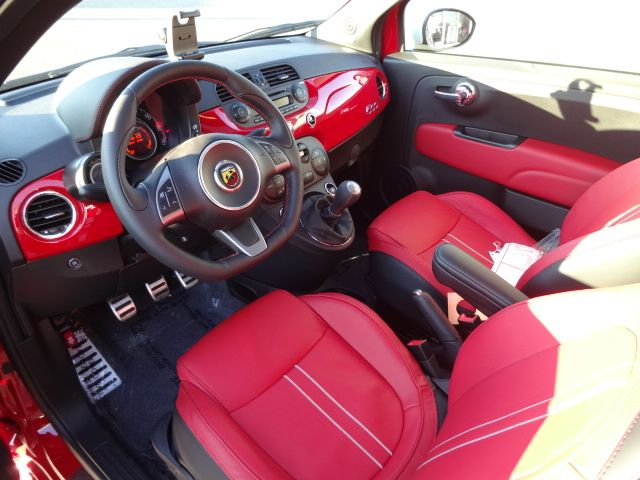 2013 Fiat 500 Abarth For Sale Wilmington Nc Red White Abarth
