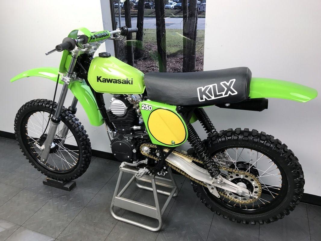 1980 Kawasaki Klx 250 Works Edition East Coast Vintage Mx In 2020 Vintage Motocross Vintage Bikes Kawasaki