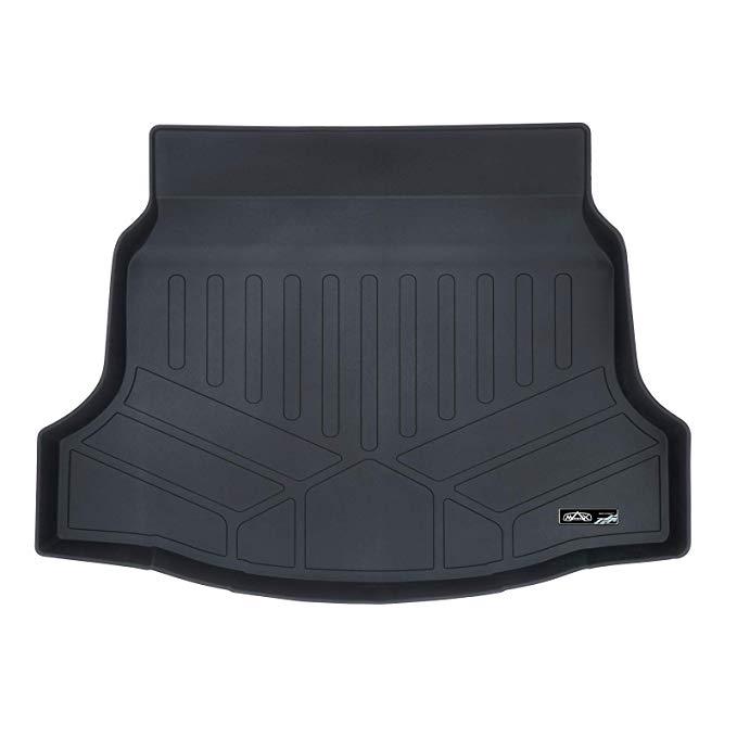 Amazon Com Smartliner All Weather Cargo Liner Floor Mat Black For