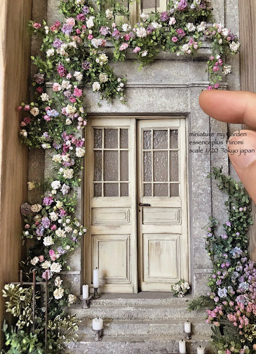 Dollhouse - so Pretty #dollhouses