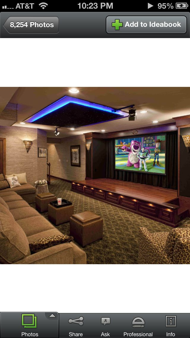 home theatre the stage idea home theater ideas pinterest