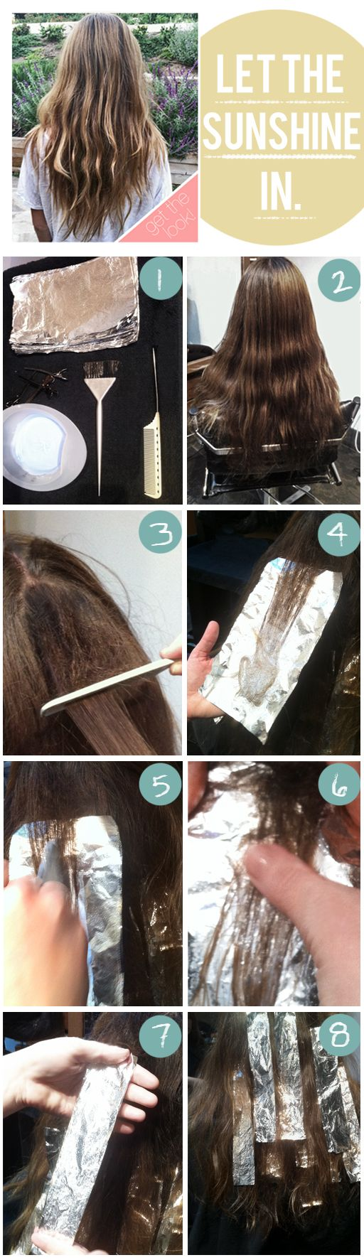 Circle barrette style idea natural highlights super natural color me happy note they do say to leave this one to the professionals since highlighting at home can go seriously astray but if you insist on diy ing baditri Images