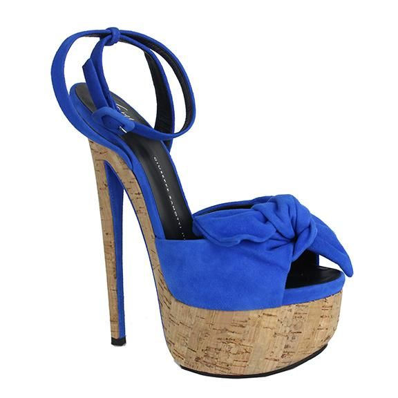 1d99e2f15174 Giuseppe Zanotti Denny Royal Blue Sandals