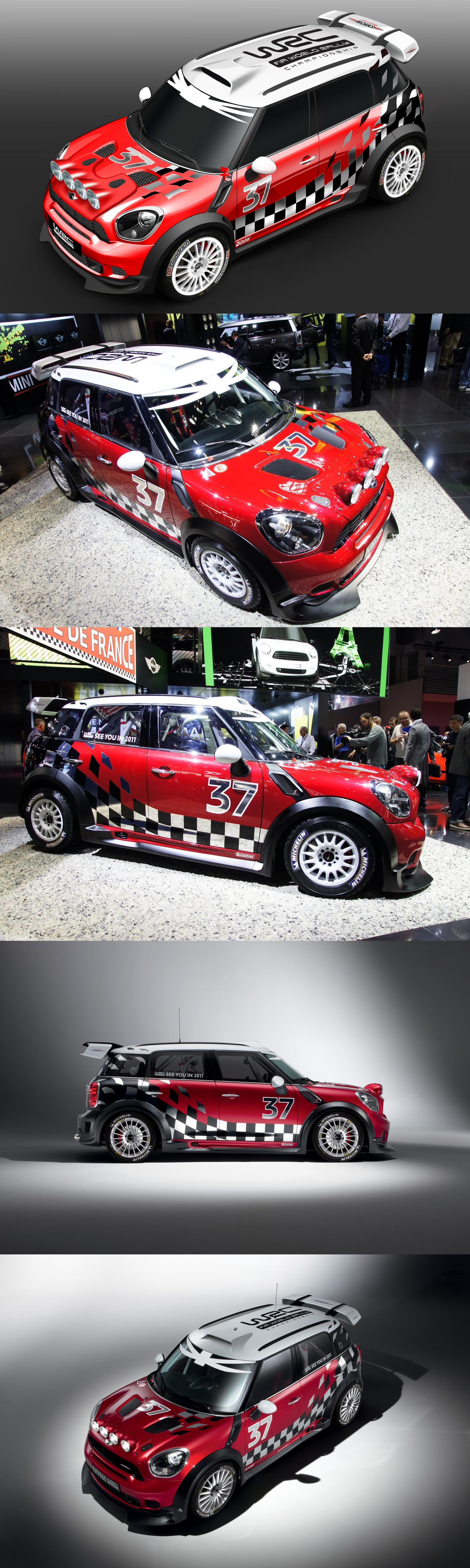 Mini Cooper CountryMan WRC | Coches !!! | Coche de rally