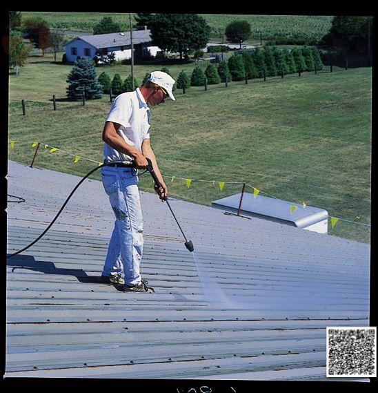 Elastomeric Roofing Membrane : Conklin elastomeric foam membrane white roof products