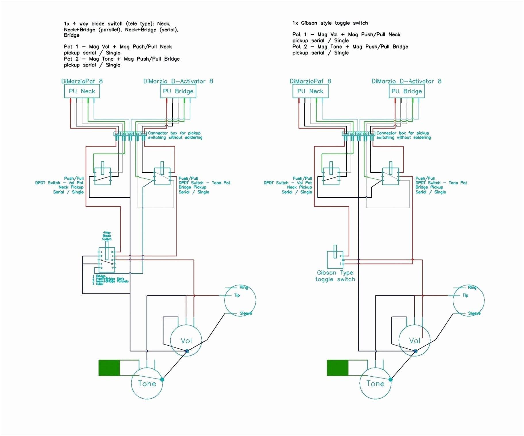 New Gibson Les Paul Modern Wiring Diagram