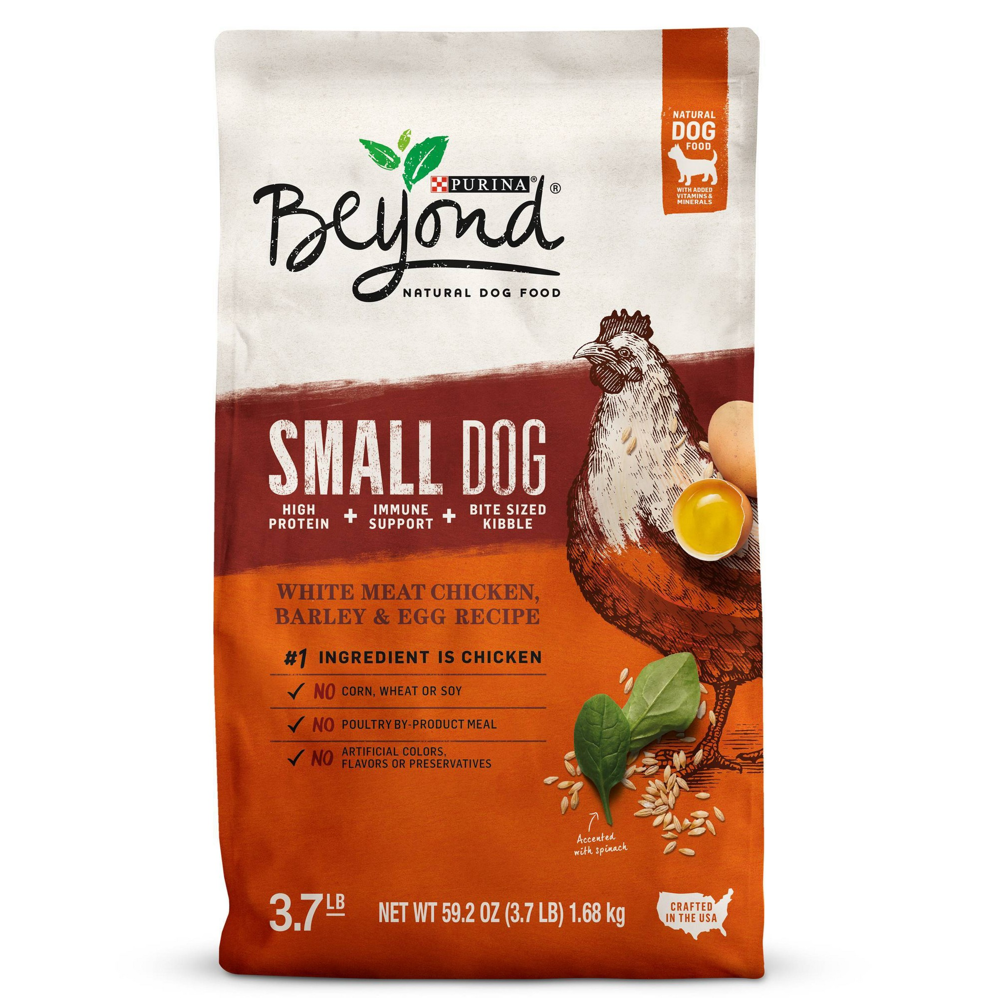Purina Beyond Small Breed Formula Chicken Oatmeal And Pumpkin