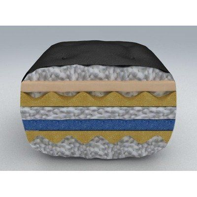 Westwood Visco Select Microfiber Full 9 Inch Futon Mattress Black By Furniture