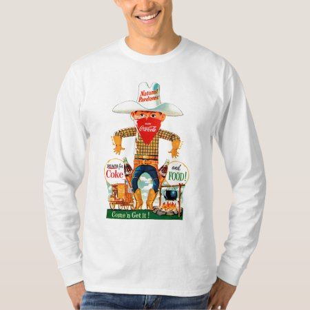 Vintage Coca-Cola | Come 'n Get It! T-Shirt - click/tap to personalize and buy