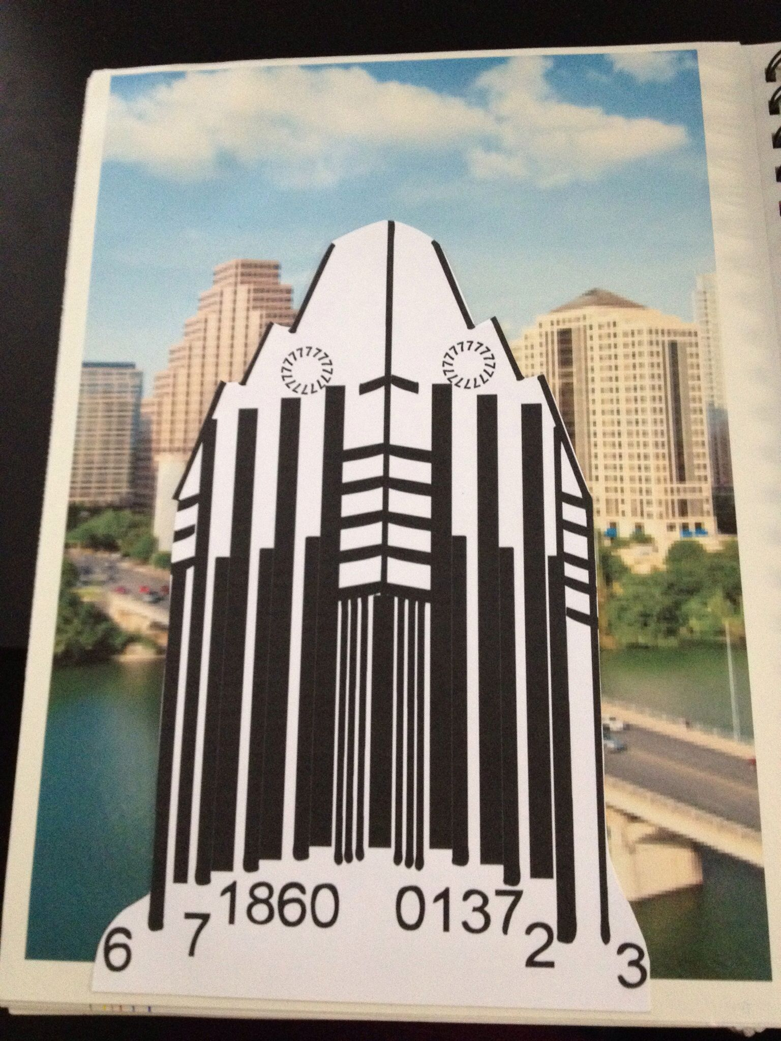 My Idea Journal from Concept Design class: Creative Barcodes