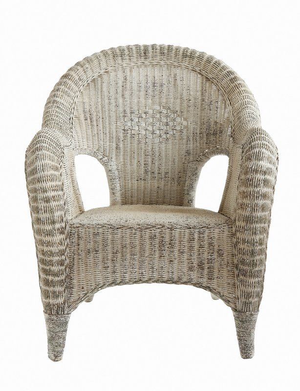 Georg Rattan Barrel Chair
