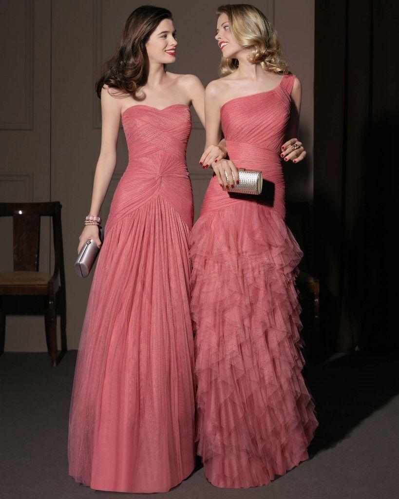Trajes de madrina de boda: consejos y fotos de vestidos | Trajes de ...