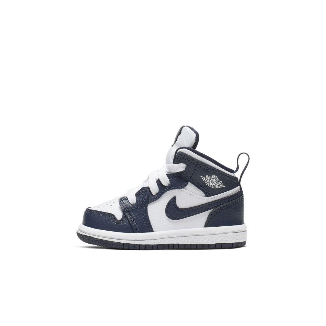 Jordan 1 Mid Infant/Toddler Shoe. Nike