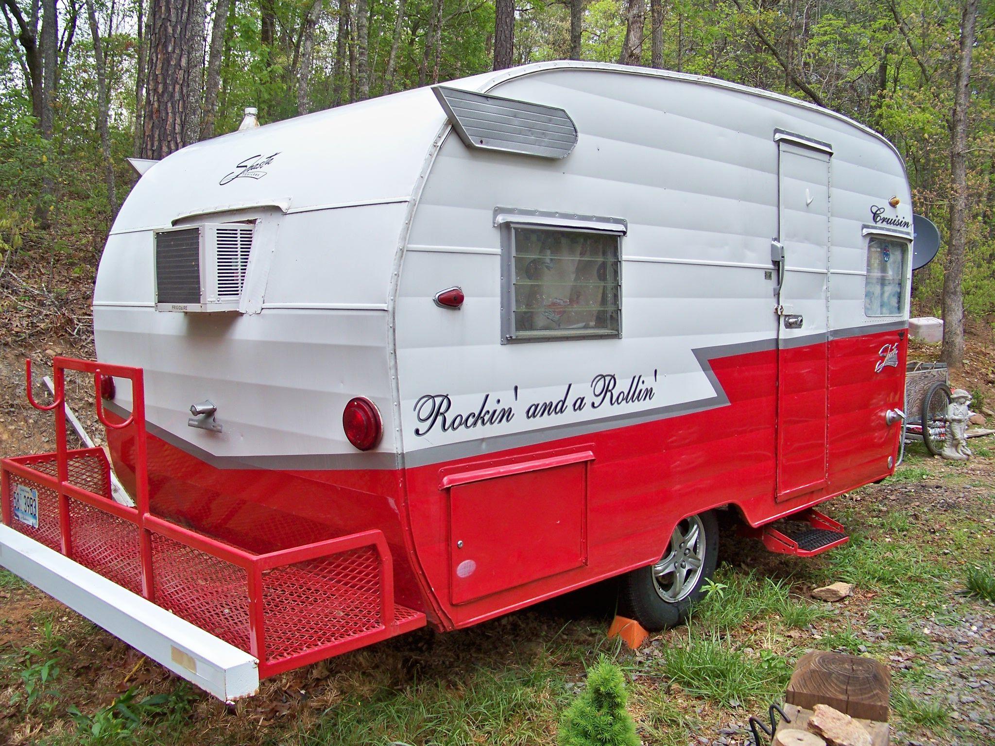 My Daisy For Sale On EBay 1963 Shasta Teardrop Travel Trailer