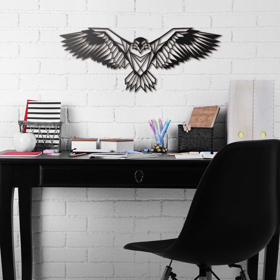 Aigle royal en d coration murale m tal avec artwall and co for Decoration murale exterieure