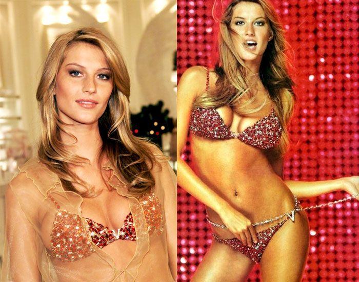 2000 : Red Hot Fantasy Bra/Panties : Gisele Bundchen