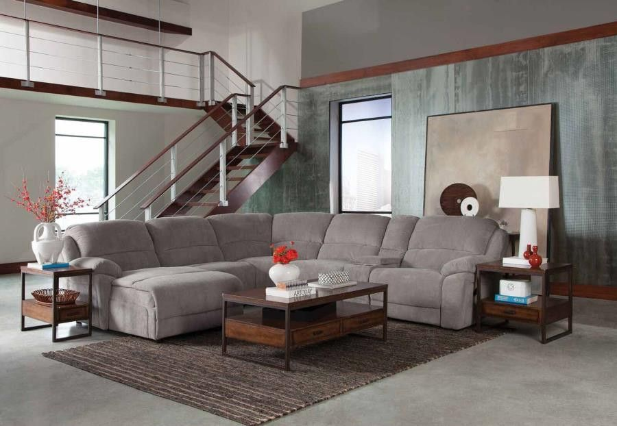 Sectional Silver Sectional Sofa With Recliner Sectional Sofa