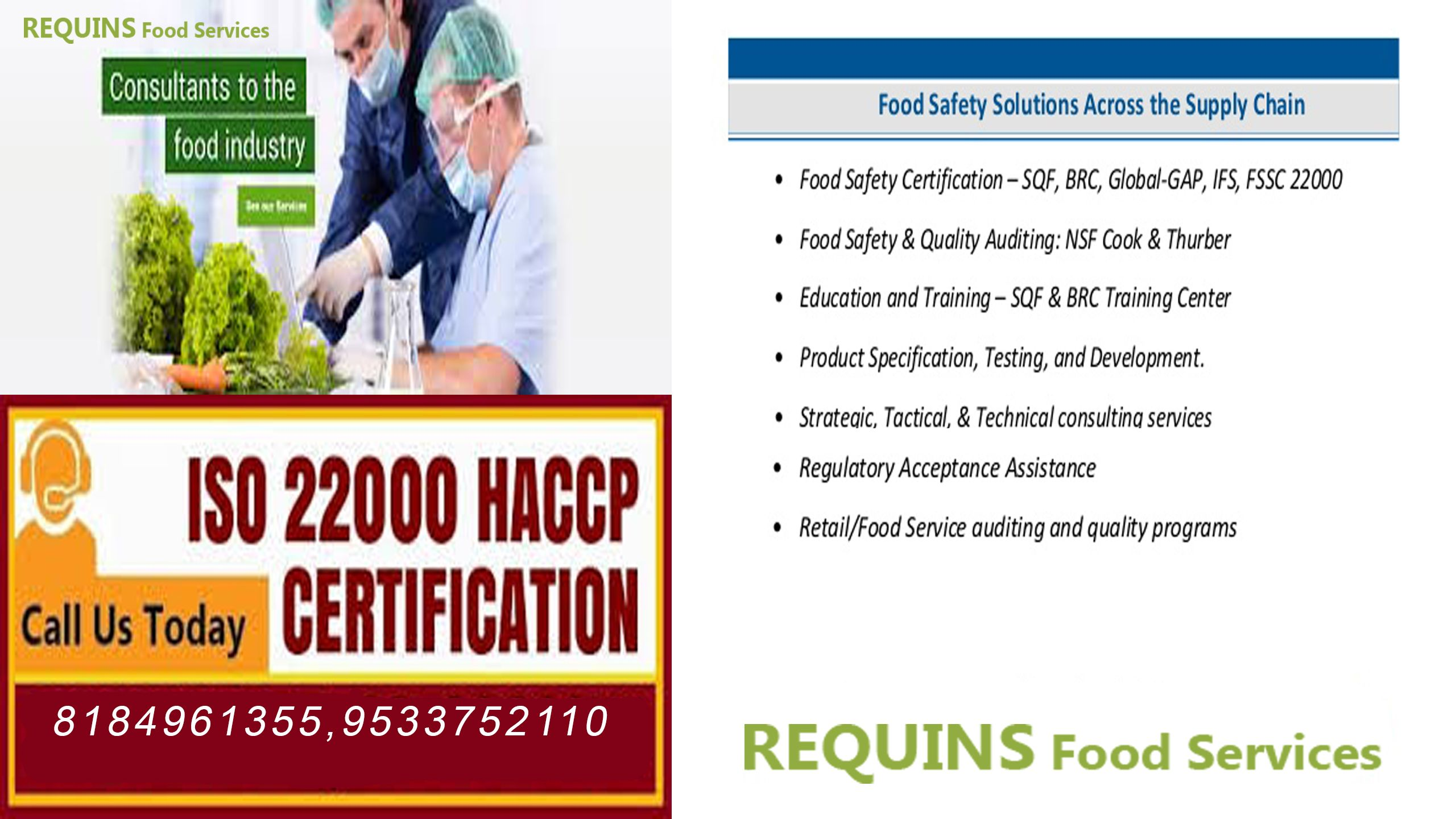 Requinsfoodservices is one of the best food Quality and