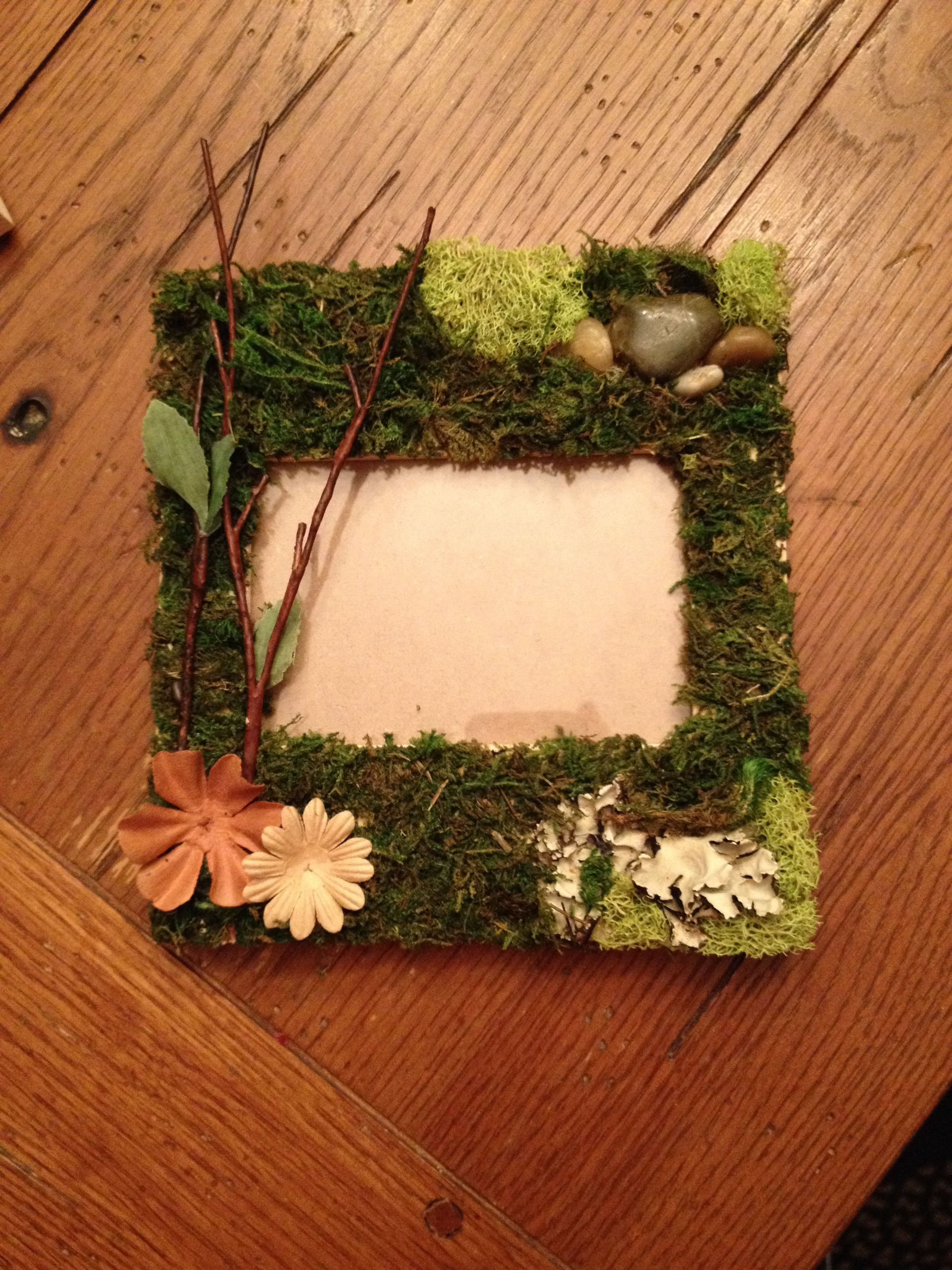 Nature Frame I Made For A Nature Forest Themed Event This