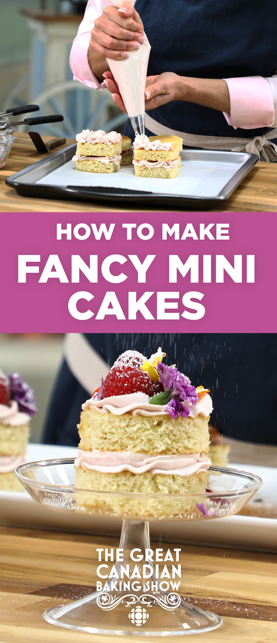 How to create Fancy Mini Cakes Recipe (With images