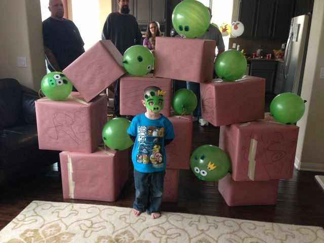 """Photo 1 of 22: Angry Bird / Birthday """"Angry Birds Party"""" 