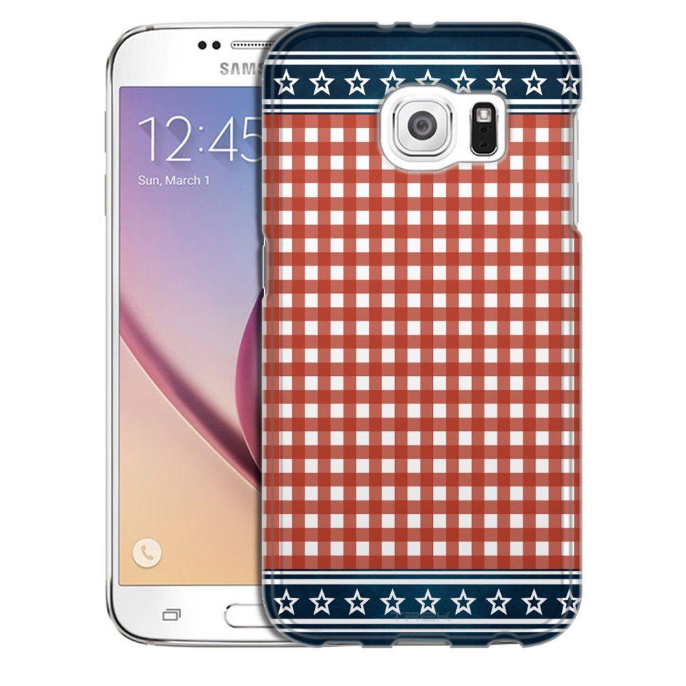 Samsung Galaxy S6 Patriotic Picnic Blanket Slim Case