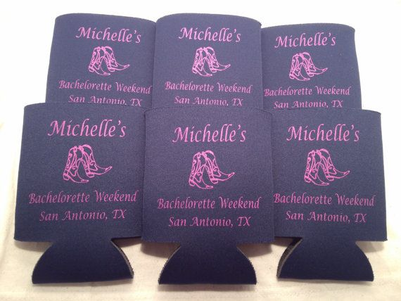 funny Bachelorette koozies grab me a beer personalized no minimum 102460490