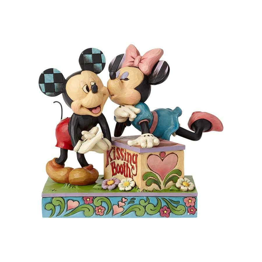 Kissing Booth Minnie Leans Over A Kissing Booth To Plant A