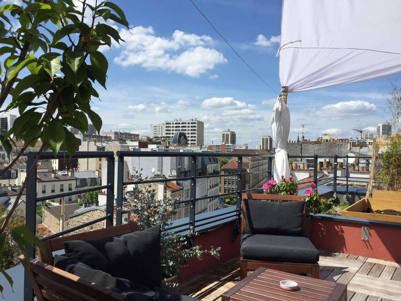 Le Rooftop de Clément Paris arrondissement, Toits de